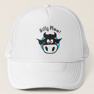silly moo trucker hat