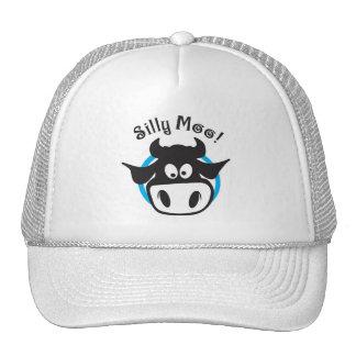 silly moo trucker hat