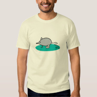 silly mouse with broken leg tee shirt