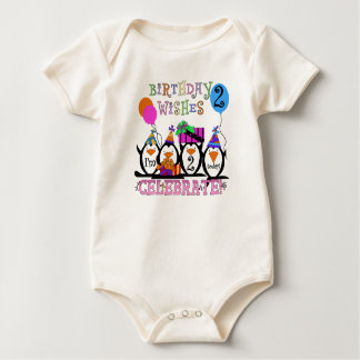 Silly Penguins 2nd Birthday T-shirts and Gifts