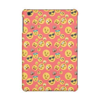 Silly Red Emoji Pattern iPad Mini Case