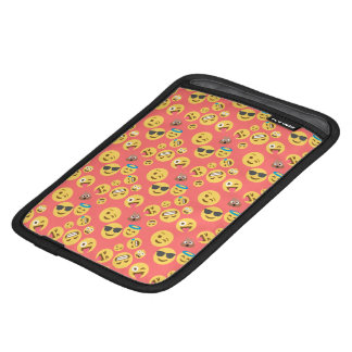 Silly Red Emoji Pattern iPad Mini Sleeve