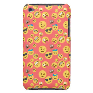 Silly Red Emoji Pattern iPod Case-Mate Case