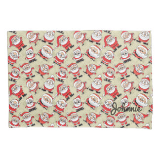 Silly Santa Claus Magoo Pillowcase