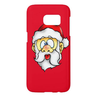 Silly Santa taking a Selfie Samsung Galaxy S7 Case