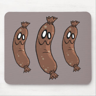 Silly Sausages Mousepad
