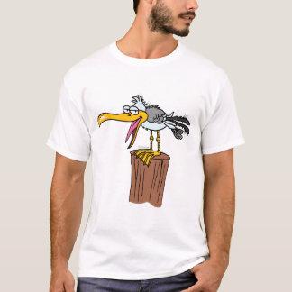 silly seagull cartoon T-Shirt