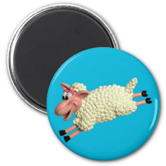Silly Sheep Magnet