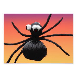 Silly Spider Halloween Card