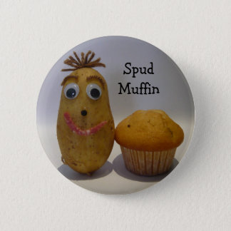 Silly Spud Muffin Button