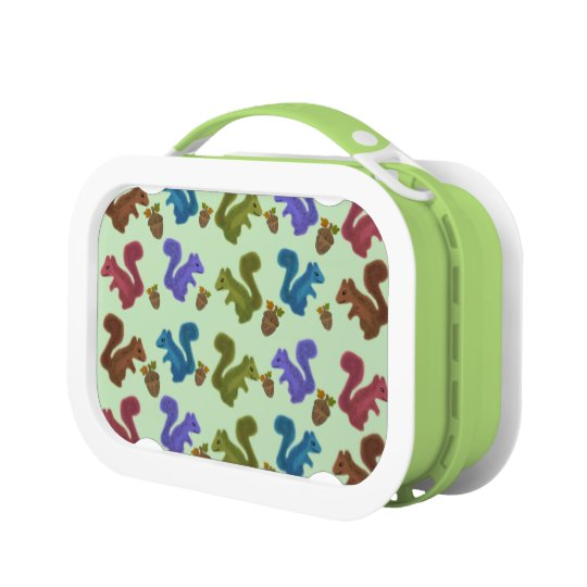 Silly Squirrels Lunch Boxes