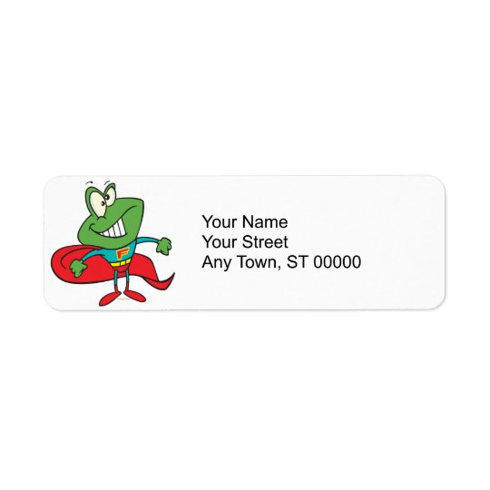 silly superhero super hero frog