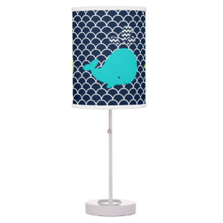 Silly Whales Table Lamp