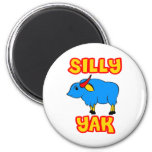 Silly Yak Refrigerator Magnet