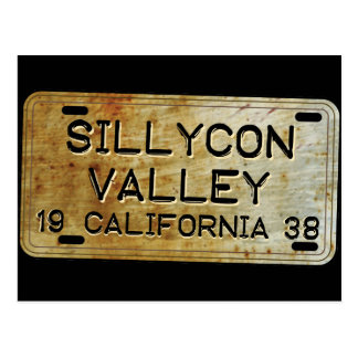 Sillycon Valley Postcard