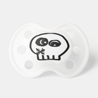 SillySkull Paci BooBaby Pacifiers