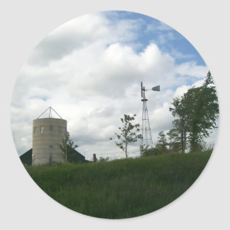 Silo and Windmill Stickers