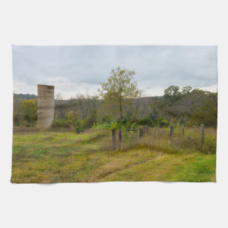 Silo Still Stands Hand Towels
