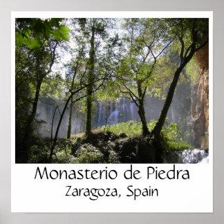 silva2, Monasterio de Piedra, Zaragoza, Spain Poster