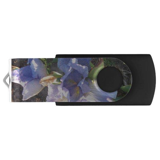 Silver, 16 GB, Black Swivel USB 3.0 Flash Drive