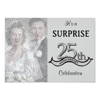 Silver (25th) Anniversary Party invitations
