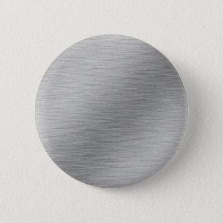 Silver 2 Inch Round Button