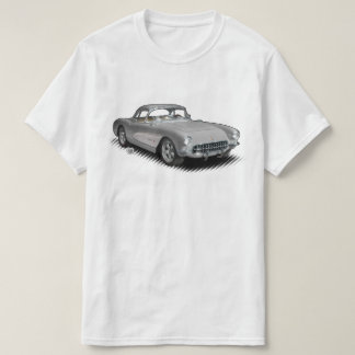 Silver 56-57 StingVetteRay t-shirt