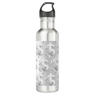 $ Silver $ 710 Ml Water Bottle