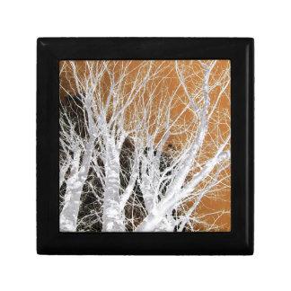Silver Alder Tree Art Gift Box
