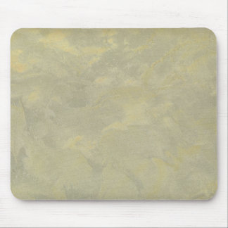 Silver And Gold Metallic Plaster Mouse Pad