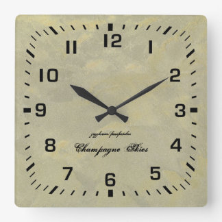 Silver And Gold Metallic Plaster Wall Clock