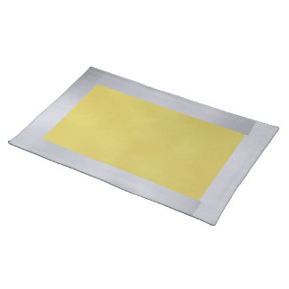 Silver and Gold Placemat
