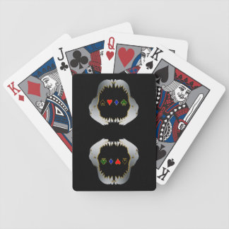 Silver and Gold Poker Shark Cards