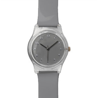 Silver and Gray Watch