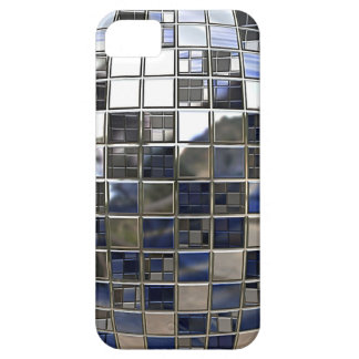 Silver and some Blue Disco Ball Mirrors iPhone 5 Covers