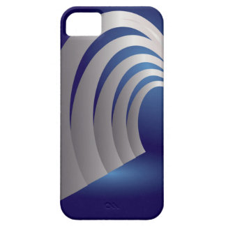 silver arcade tunnel case for the iPhone 5