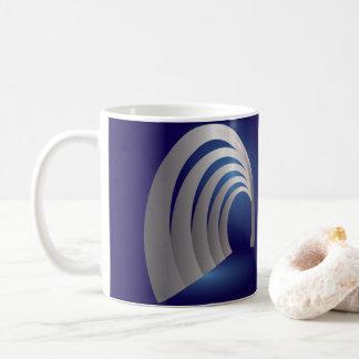silver arcade tunnel coffee mug