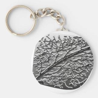 Silver Aspen Keychain