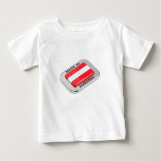 Silver badge Made in Austria Baby T-Shirt