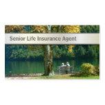 Silver Belt Senior Life Insurance business card