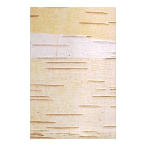 Silver Birch Bark Stationery