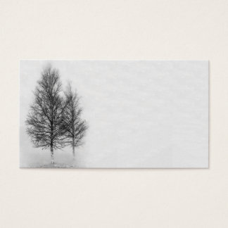 Silver Birches Business Card