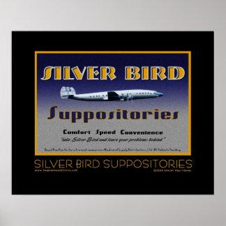 Silver Bird Suppositories fine art poster