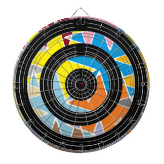 Silver Black Wheels - Happy Time Graphics Dartboards