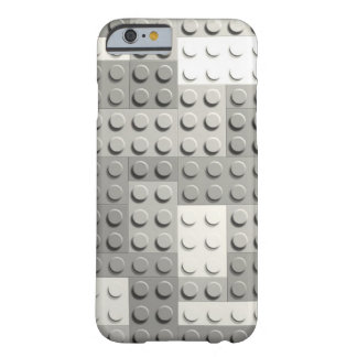 Silver blocks barely there iPhone 6 case