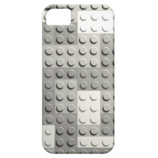 Silver blocks iPhone 5 case