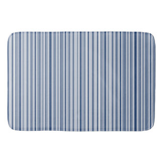 Silver Blues Bath Mat