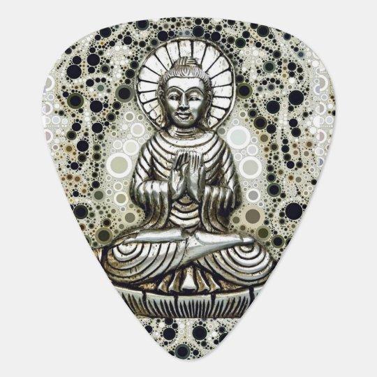 Silver Buddha Guitar Picks Pick
