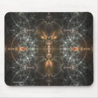 Silver Cages Mouse Pad