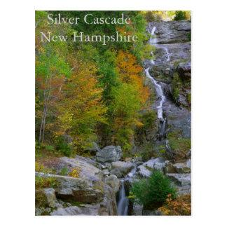 Silver Cascade  Postcard